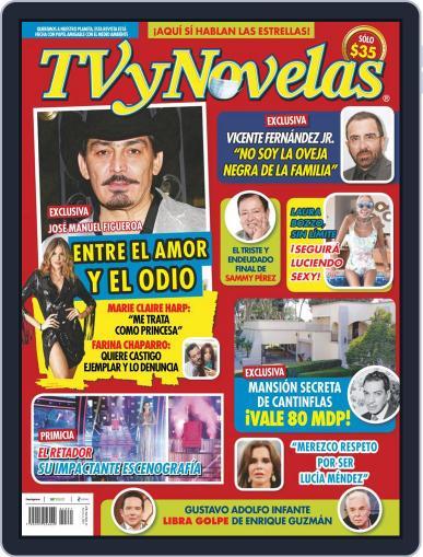 TV y Novelas México Magazine (Digital) August 2nd, 2021 Issue Cover