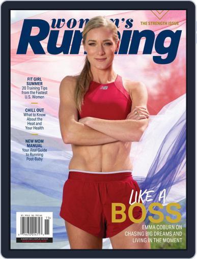 Women's Running August 1st, 2021 Digital Back Issue Cover