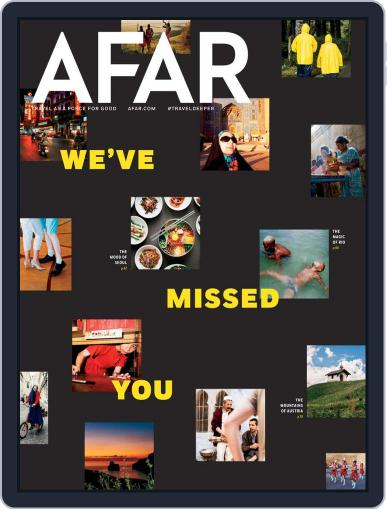 AFAR Magazine (Digital) May 1st, 2021 Issue Cover