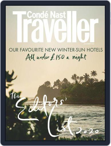 Conde Nast Traveller UK Magazine (Digital) December 1st, 2020 Issue Cover
