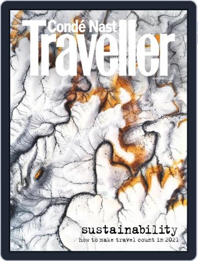 Conde Nast Traveller UK Magazine (Digital) March 1st, 2021 Issue Cover