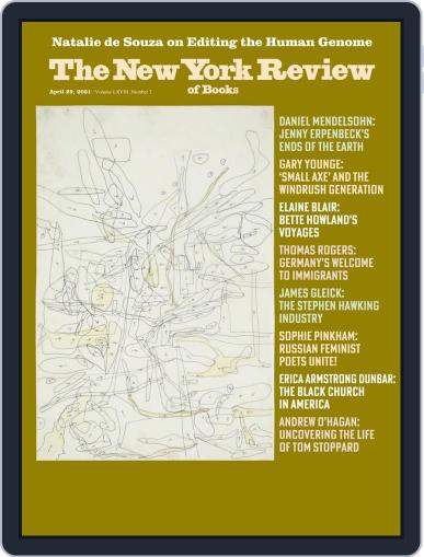 The New York Review of Books Magazine (Digital) April 29th, 2021 Issue Cover