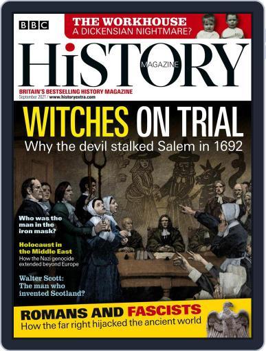 Bbc History Magazine (Digital) September 1st, 2021 Issue Cover
