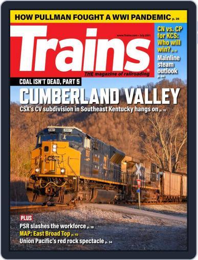 Trains Magazine (Digital) July 1st, 2021 Issue Cover