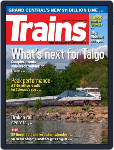 Trains Magazine (Digital) September 1st, 2021 Issue Cover