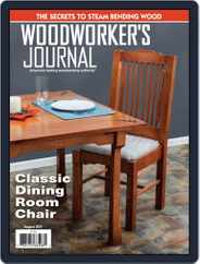 Woodworker's Journal Magazine (Digital) Subscription August 1st, 2021 Issue