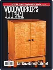 Woodworker's Journal Magazine (Digital) Subscription February 1st, 2021 Issue