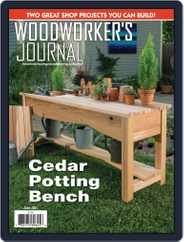 Woodworker's Journal Magazine (Digital) Subscription June 1st, 2021 Issue
