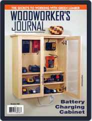 Woodworker's Journal Magazine (Digital) Subscription October 1st, 2021 Issue