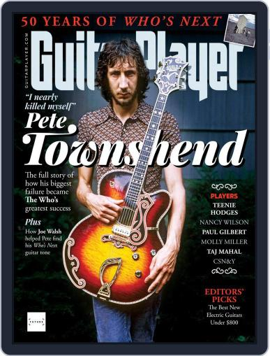Guitar Player Magazine (Digital) August 1st, 2021 Issue Cover
