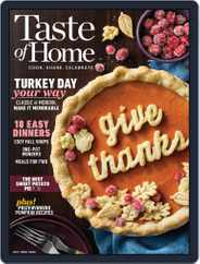 Taste of Home Magazine (Digital) Subscription October 1st, 2020 Issue