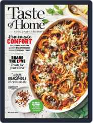 Taste of Home Magazine (Digital) Subscription February 1st, 2021 Issue