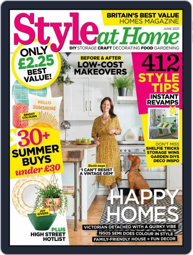 Style At Home United Kingdom Magazine (Digital) June 1st, 2021 Issue Cover