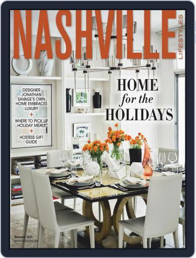 Nashville Lifestyles Magazine (Digital) November 1st, 2020 Issue Cover