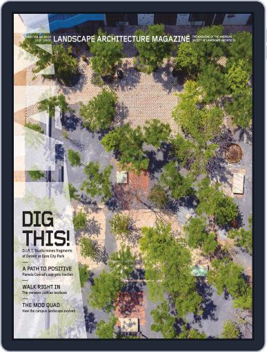 Landscape Architecture Magazine (Digital) October 1st, 2020 Issue Cover