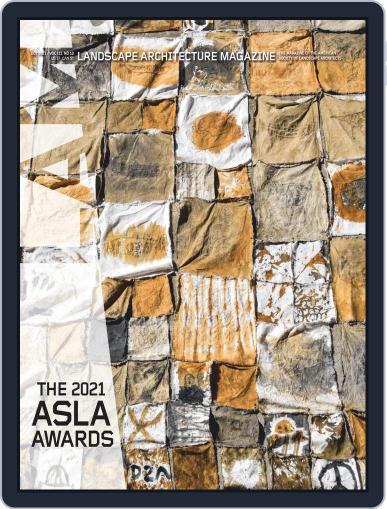 Landscape Architecture Magazine (Digital) October 1st, 2021 Issue Cover