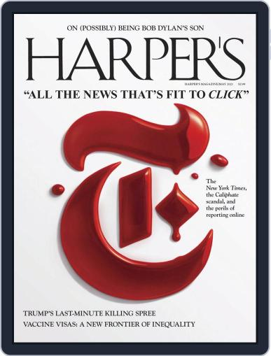 Harper's Magazine (Digital) May 1st, 2021 Issue Cover