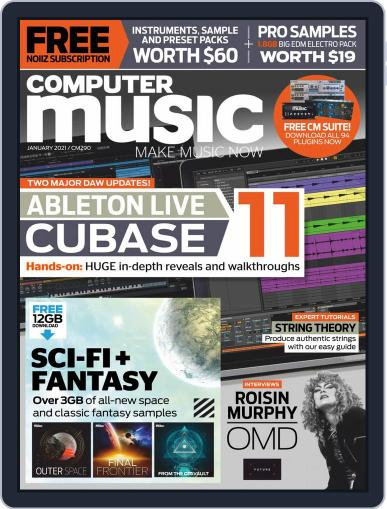 Computer Music Magazine (Digital) January 1st, 2021 Issue Cover