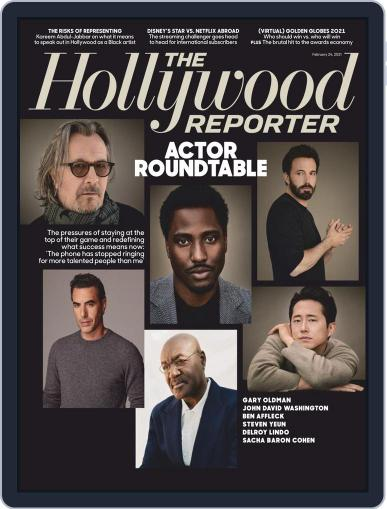 The Hollywood Reporter Magazine (Digital) February 24th, 2021 Issue Cover