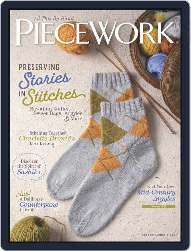 PieceWork Magazine (Digital) April 1st, 2021 Issue Cover
