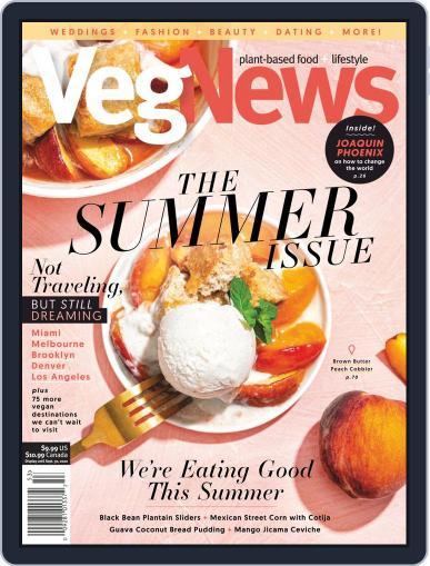 VegNews Magazine (Digital) June 11th, 2020 Issue Cover
