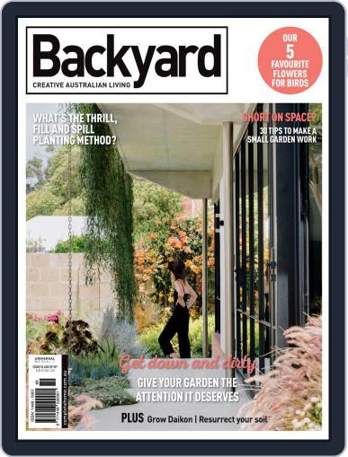 Backyard and Outdoor Living Magazine (Digital) May 1st, 2021 Issue Cover