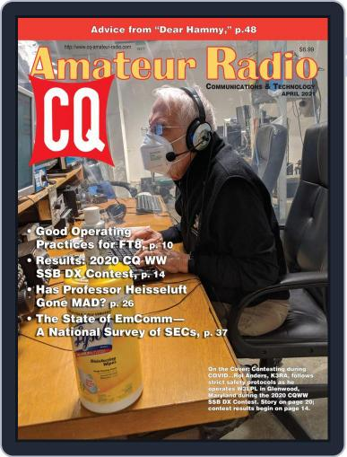 CQ Amateur Radio Magazine (Digital) April 1st, 2021 Issue Cover