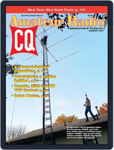 CQ Amateur Radio Magazine (Digital) January 1st, 2021 Issue Cover