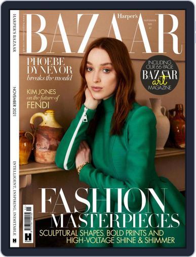 Harper's Bazaar UK Magazine (Digital) November 1st, 2021 Issue Cover