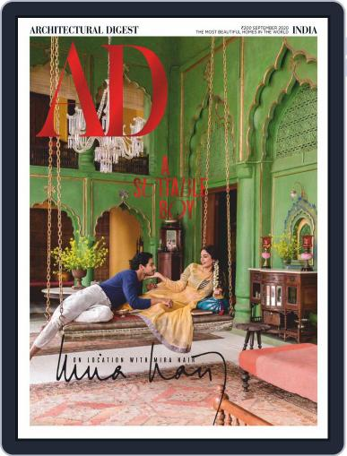 Architectural Digest India Magazine (Digital) September 1st, 2020 Issue Cover