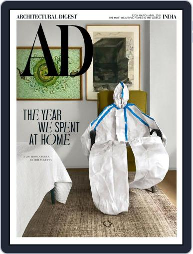 Architectural Digest India Magazine (Digital) March 1st, 2021 Issue Cover