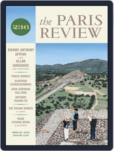 The Paris Review Magazine (Digital) March 1st, 2021 Issue Cover