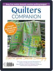 Quilters Companion Magazine (Digital) Subscription September 2nd, 2020 Issue