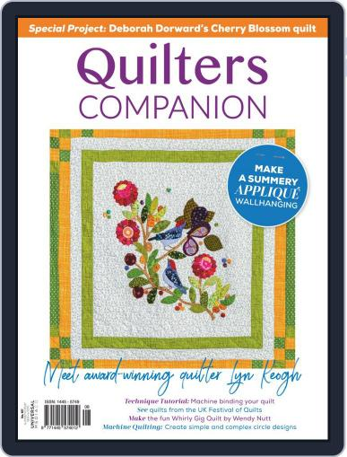 Quilters Companion Magazine (Digital) January 1st, 2021 Issue Cover