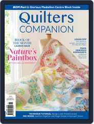 Quilters Companion Magazine (Digital) Subscription July 1st, 2021 Issue