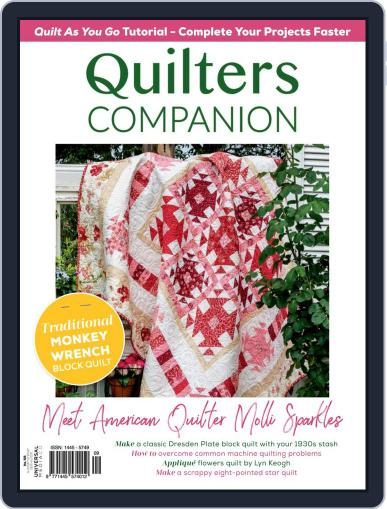 Quilters Companion Magazine (Digital) March 1st, 2021 Issue Cover