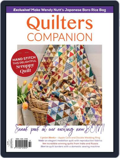 Quilters Companion Magazine (Digital) May 1st, 2021 Issue Cover
