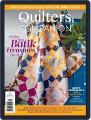 Quilters Companion Magazine (Digital) Subscription September 15th, 2021 Issue