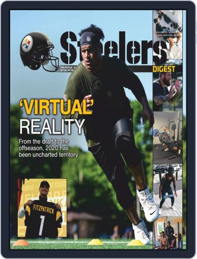 Steelers Digest Magazine (Digital) June 1st, 2020 Issue Cover
