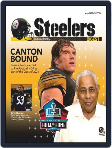 Steelers Digest Magazine (Digital) March 1st, 2021 Issue Cover