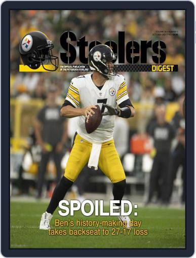 Steelers Digest Magazine (Digital) October 1st, 2021 Issue Cover