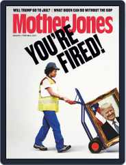 Mother Jones Magazine (Digital) Subscription January 1st, 2021 Issue