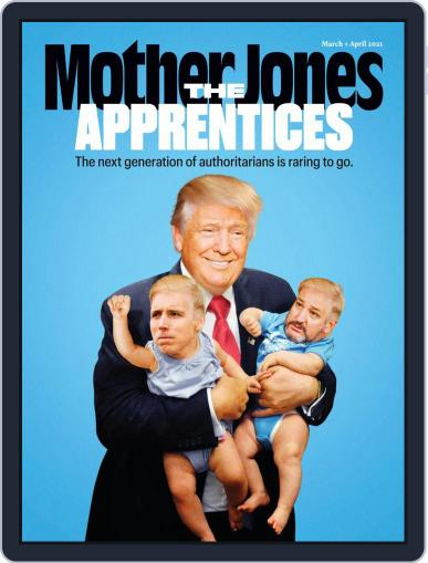 Mother Jones Magazine (Digital) March 1st, 2021 Issue Cover