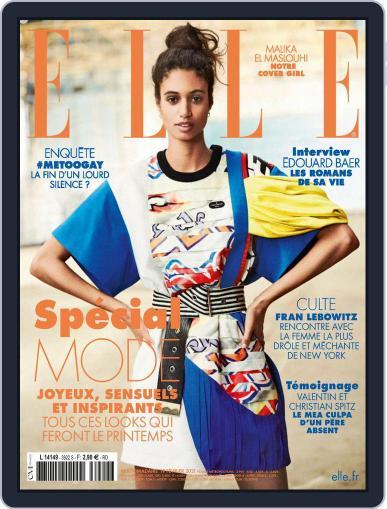 Elle France Magazine (Digital) February 19th, 2021 Issue Cover