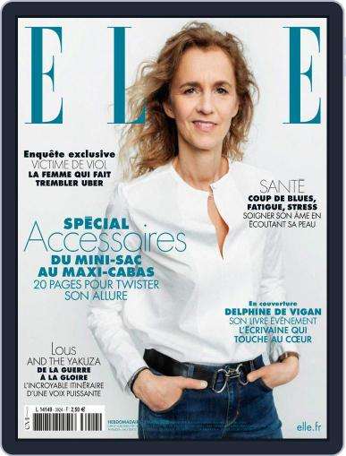 Elle France Magazine (Digital) March 5th, 2021 Issue Cover