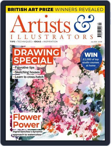 Artists & Illustrators Magazine (Digital) July 1st, 2021 Issue Cover