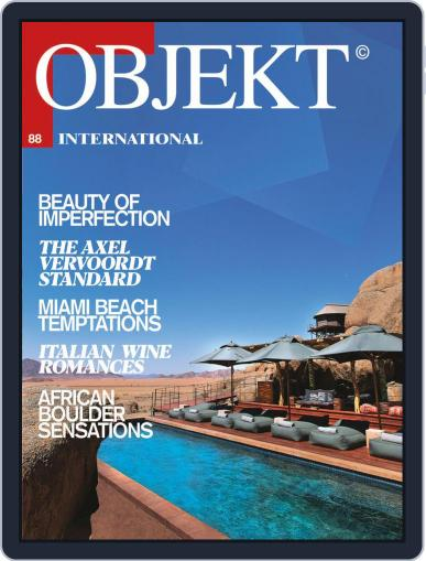 OBJEKT International Magazine (Digital) March 1st, 2020 Issue Cover