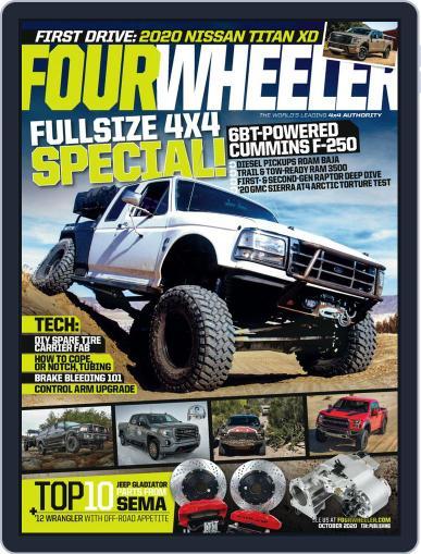 Four Wheeler Magazine (Digital) October 1st, 2020 Issue Cover