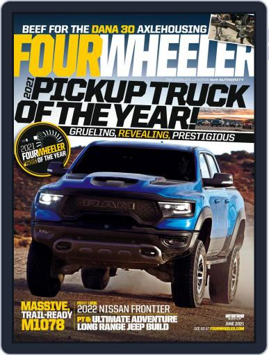 Four Wheeler Magazine (Digital) June 1st, 2021 Issue Cover