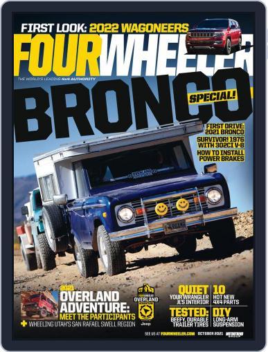 Four Wheeler Magazine (Digital) October 1st, 2021 Issue Cover